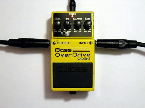 Pepe - BOSS ODB-3 Bass OverDrive Demo