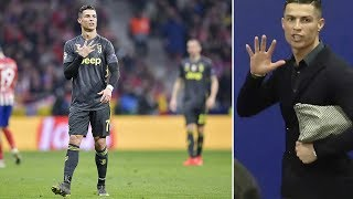 The reason why Cristiano Ronaldo got furious after Atlético vs Juventus - Oh My Goal
