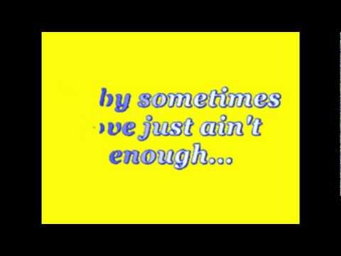 Patty Smyth – Sometimes Love Just Ain't Enough Lyrics ...