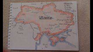 Play this video ASMR - Map of Ukraine - Australian Accent - Chewing Gum, Drawing amp Describing in a Quiet Whisper