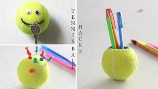テニスボールでニコちゃん!簡単楽しいDIY☆
