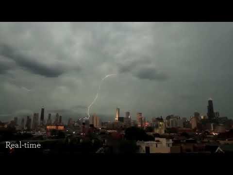 IMPACTOS DE RAYOS: Edificios en Chicago