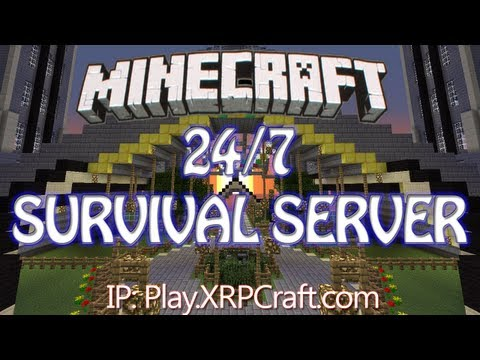 24/7 MineCraft RP 1.7 Server - XRPCraft (No Whitelist) - Survival, McMMO, Factio