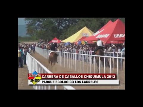 CARRERA DE CABALLOS CHIQUIMULA 2012
