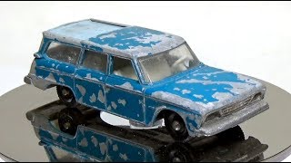 Matchbox Restoration: Lesney No42 Studebaker Lark Wagonaire