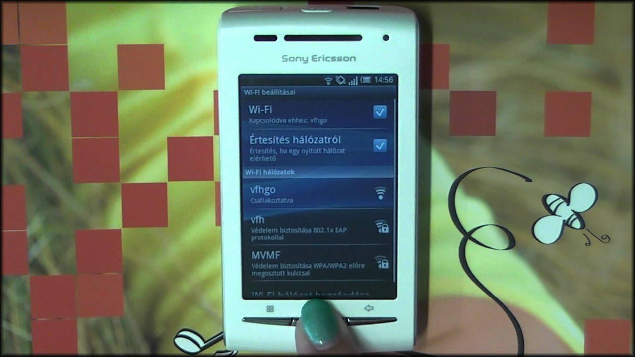 Посмотреть ролик - Seg?thet?nk? - Sony Ericsson Xperia X8.