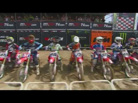EMX150 of Czech Republic 2014 Race 2 Highlights - Motocross