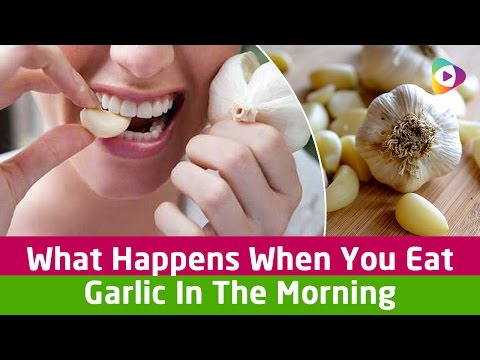 What Happens When You Eat Garlic In The Morning -...