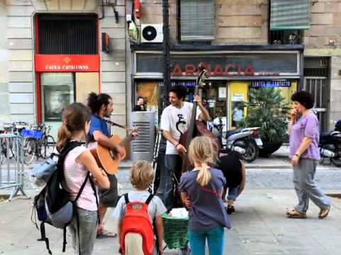 Musica pugliese:Pizzica in Barcellona WWW.GOODNEWS.WS