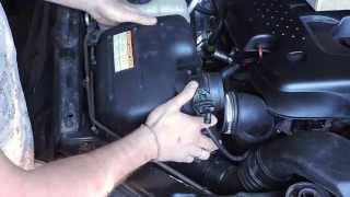 Ssang Yong Kyron. Замена воздушного фильтра. How to Replacement air filter SsangYong kyron