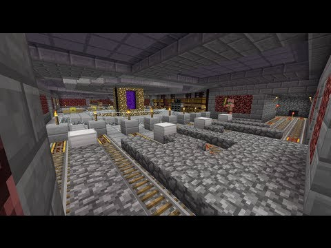 Minecraft Nether Subway System