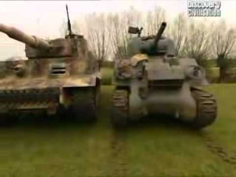 Tiger vs Sherman