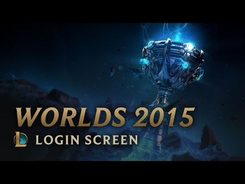 World Championship 2015 - Login Screen