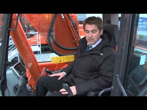 Doosan DX225LC-3 Excavator at Bauma 2013 - English