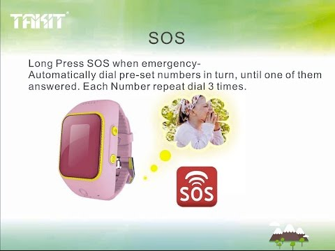 GPS tracking watch for kids V05 super low power consumption,waterproof, WIFI positioning