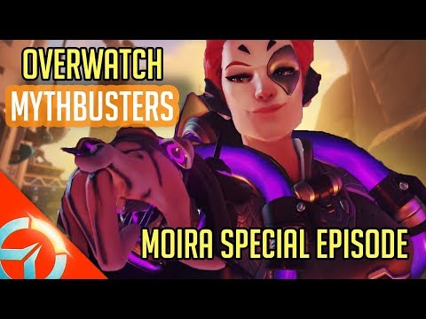 Overwatch Mythbusters | Moira Special Episode | Overwatch New Hero : Abilities And Mythbusted