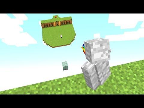 Meine Base wurde 300 Blöcke nach oben verschoben😂👍.. Minecraft LUCKY BLOCK BEDWARS