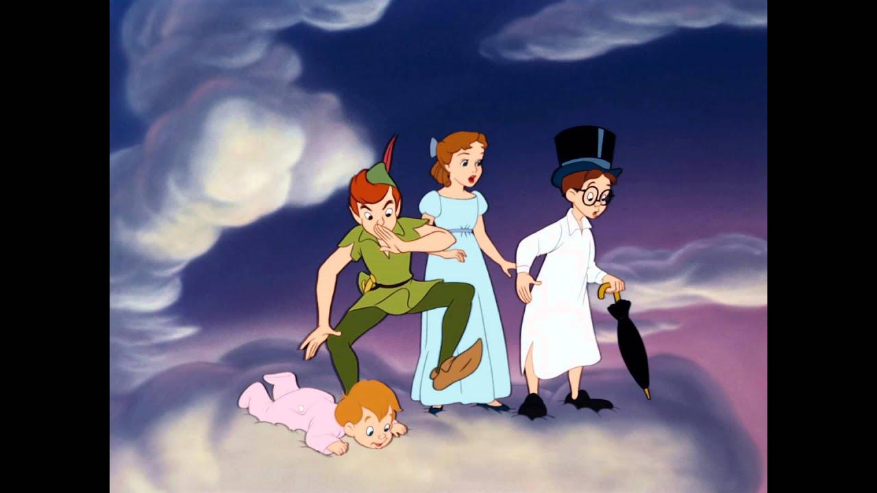 Peter pan extrait le pays imaginaire le 12 d cembre en blu ray et dvd youtube - Image peter pan ...