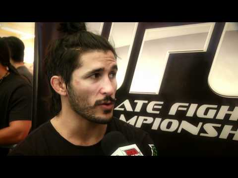 Ian McCall  UFC on FX3  pre-fight interview and open workout