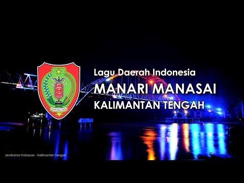 Manari Manasai - Lagu Daerah Kalimantan Tengah (Karoke Dengan Lirik)