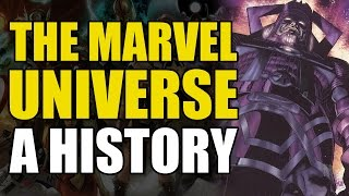 A History of The Marvel Universe - Part 4 - Infinity Gems, Phoenix Force & Silver Surfer