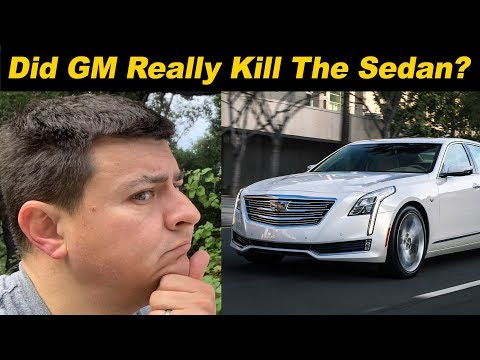 CAFE: The Other Reason GM Killed The Sedan