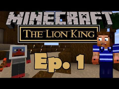 Minecraft | The Lion King Mod Ep. 1: To the Pride Lands! (Minecraft Mod LP)