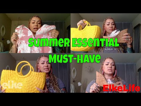 Review: Summer Essentials Fashion Must-Have!! Cork, Straw, Wedges...| Elke Life