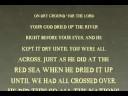 Joshua Typography Animation (Joshua 4:15-24)