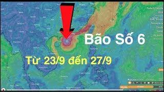 BÃO SỐ 6 KHÔNG XUẤT HIỆN ở Biển Đông Bão có tên là NIMFA sẽ đi về Nhật bản Và Hàn Quốc