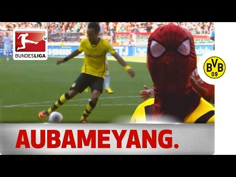 Pierre-Emerick Aubameyang - The Bundesliga Superhero