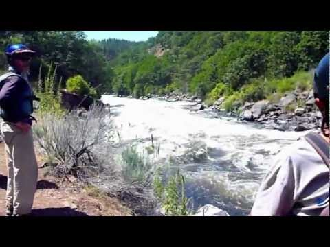 Upper Klamath River-Best Video on the Internet of Rafting Caldera Rapid-Hell's Corner Gorge run...