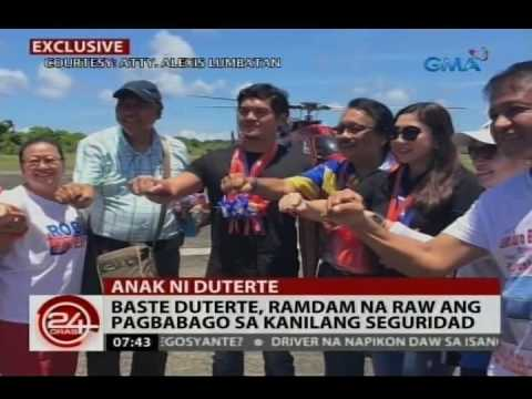 24 Oras: Baste Duterte, single pero may 2 anak; Mahilig din sa surfing at pagbabanda