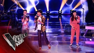 Sam, Ivy and Ryan Perform 'Under Pressure' | The Battles | The Voice Kids UK 2019