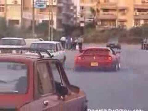 Video Ferrari 355 Drift
