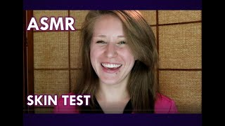 ASMR  Doctor Appointment Skin Sensitivity Testing