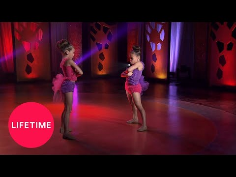 "Dance Moms: Asia and Mackenzie Perform ""We Hit Harder"" (Season 3 Flashback) 