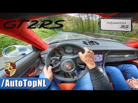 Porsche 911 GT2 RS 700HP Weissach POV Test Drive by AutoTopNL