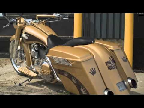 Bad Dad's Long Strokes Exhaust for Baggers, Street Glide, Road Glide, Road King