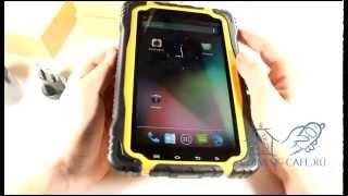 Видеообзо противоударного водонепроницаемого планшета Hugerock T70 IP68 Android 4