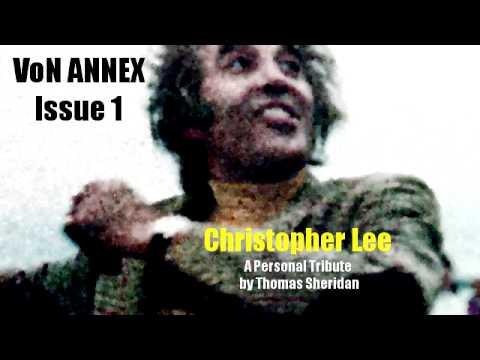 VoN ANNEX 1 - Christopher Lee