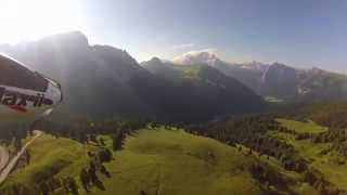 RC Plane with Gopro 3 - Sonnenaufgang am Sellajoch