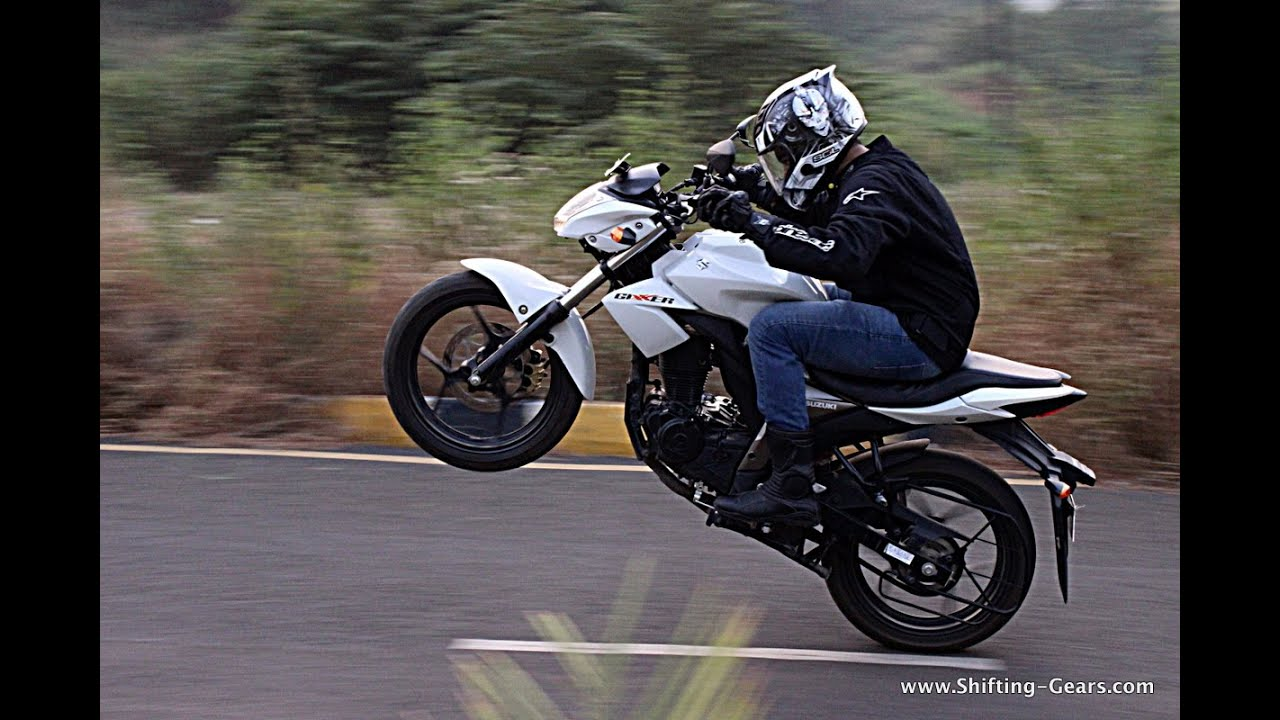 Bike Stunts Videos Youtube Gixxer Bike stunts in indore