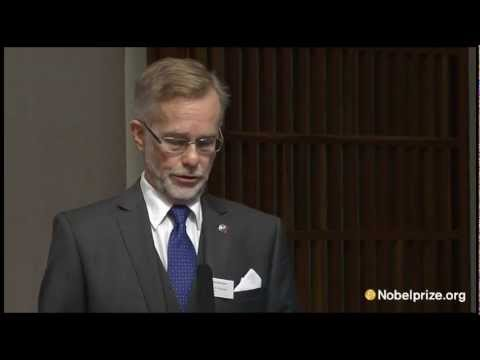Announcement of the 2012 Nobel Prize in Physiology or Medicine