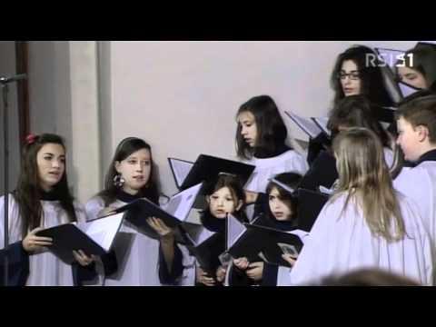 Salmo, Messa in diretta nazionale da Quinto (TI) - Scuola Corale della Cattedrale di Lugano