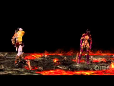 Mortal Kombat: Kratos Fatalities