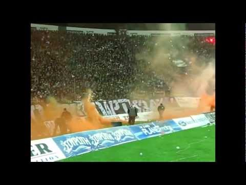 Top 10 crazy footbal fans in Europe(HD)