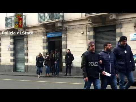 Operazione Cowards: il video degli arresti