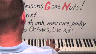 Piano Lesson How To Play Octaves Better, Faster, And Easier Shawn Answers A Fan's Question