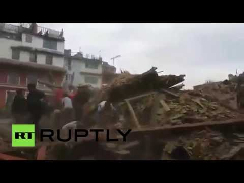 Nepal Earthquake: Over 800 killed, many trapped after 7.9 quake
